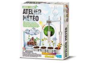 Boite Atelier Météo - 4M - Jeu Écologique - Kidzlabs - Jouet Scientifique
