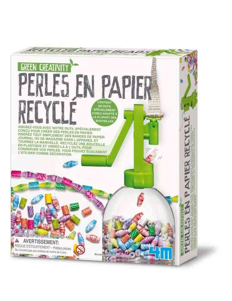 Boite Kit Création Perles en Papier Recyclé - 4M - Green Science