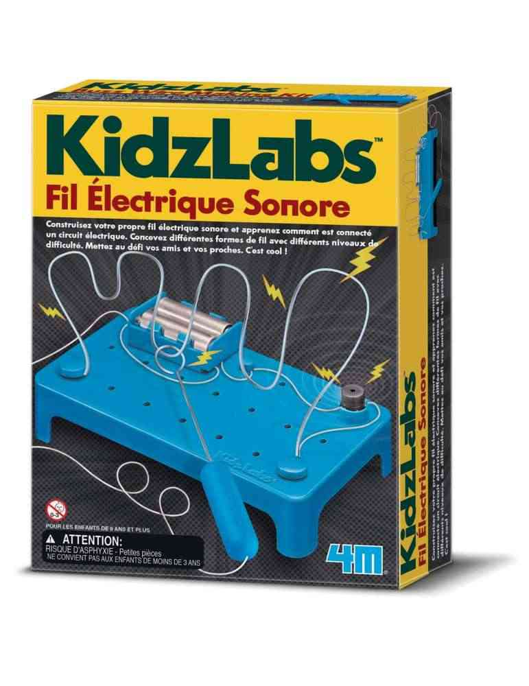 Fil électrique sonor - 4M - DIY - Kidzlabs