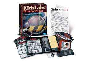 Kit Empreintes Digitales - 4M - KidzLabs - Jouet Scientifique