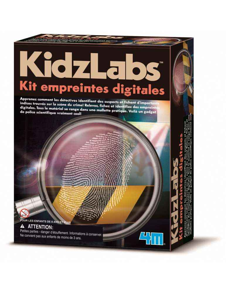 Kit Empreintes Digitales - 4M - KidzLabs