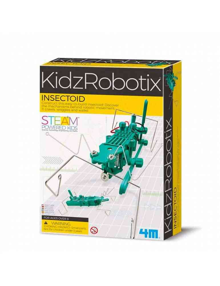 Insectoid - robot insecte - 4M - kidzlabs - jouet scientifique