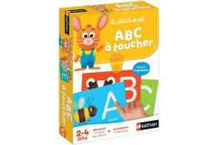 ABC à toucher - Nathan - Montessori