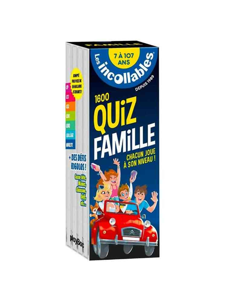 Les Incollables - Quiz Famille - Playbac