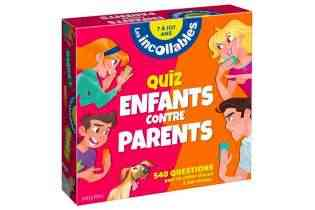 Quiz enfants contre parents - playbac