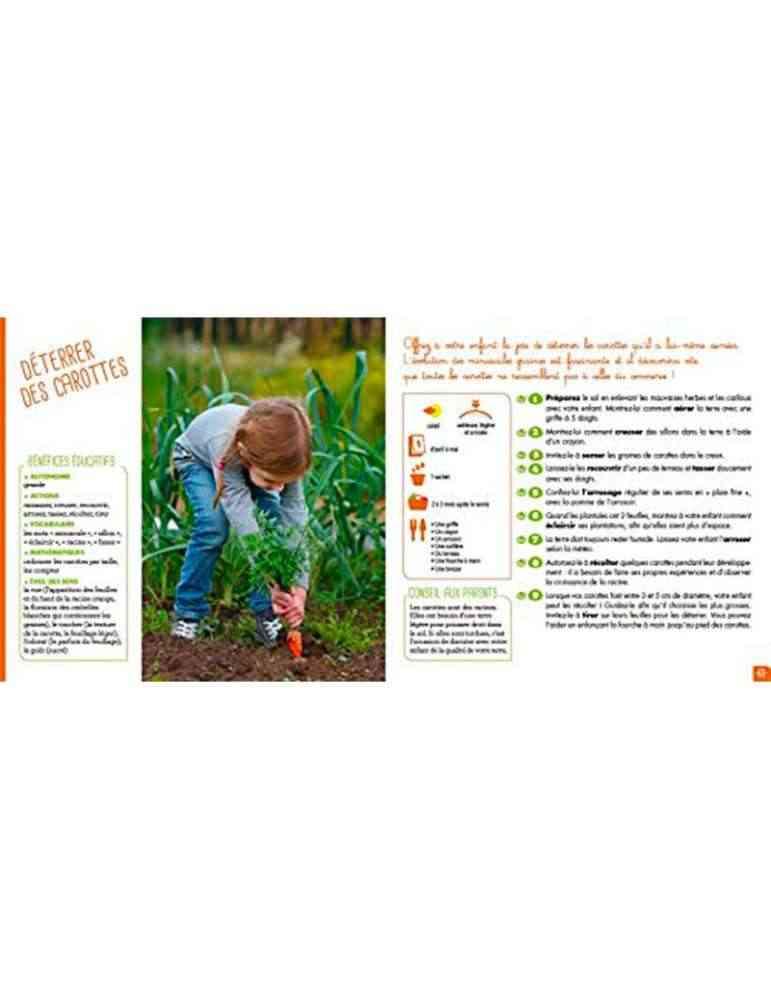 Je jardine, je grandis! Montessori - playbac