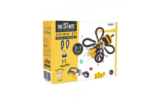BEEBIT - Offbits - Medium 3 en 1 - Jeu de Construction