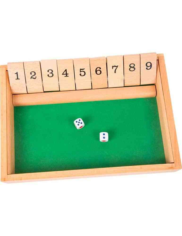 Shut the box - jeu de math