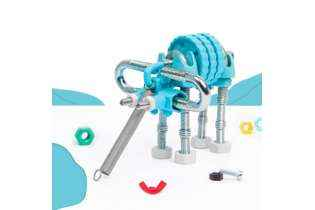 Elephantbit - Offbits - Medium 3 en 1 - Jeu de Construction