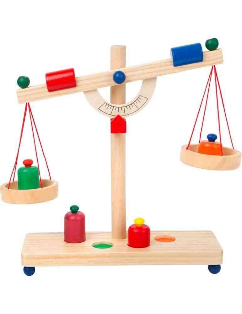 Balance Montessori en bois