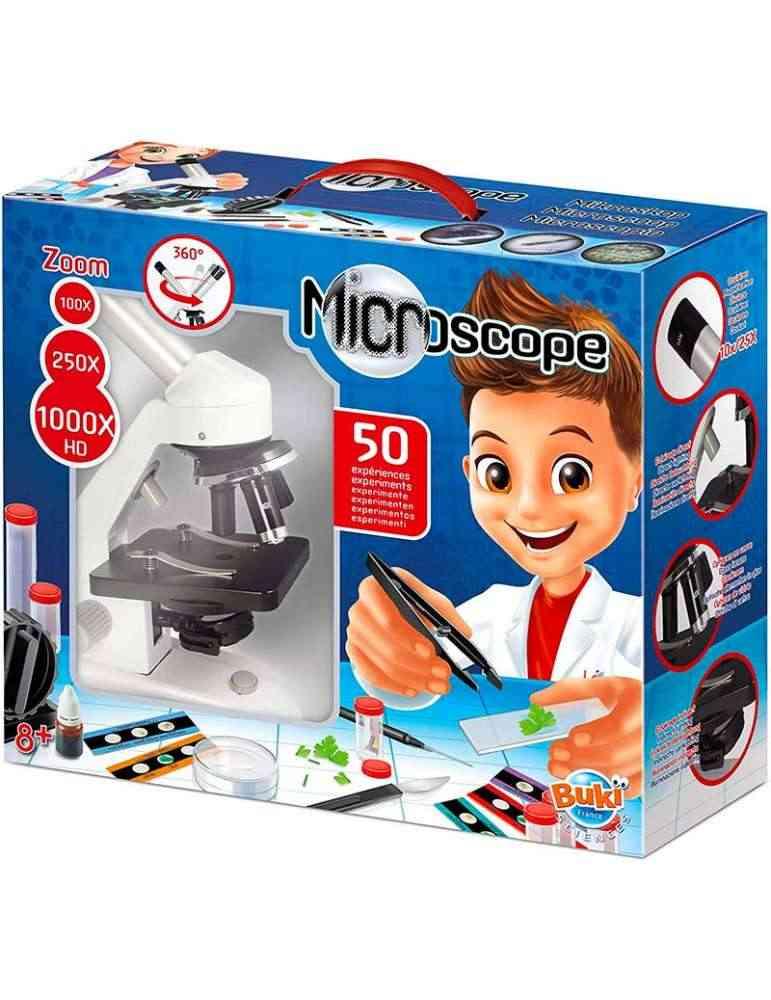 Microscope 50 expériences - Buki