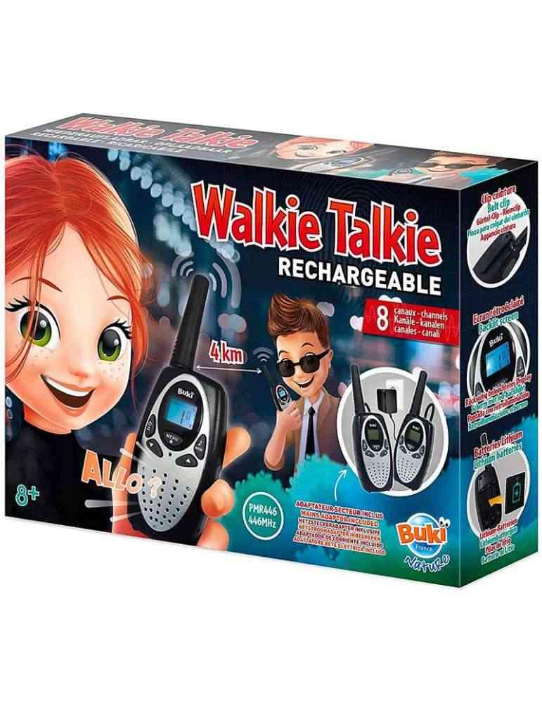 Talkie Walkie rechargeable Buki