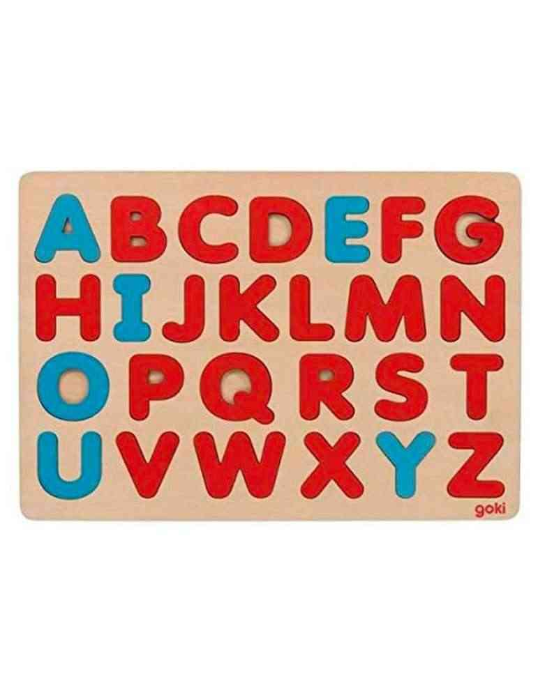 Puzzle alphabet Montessori en bois