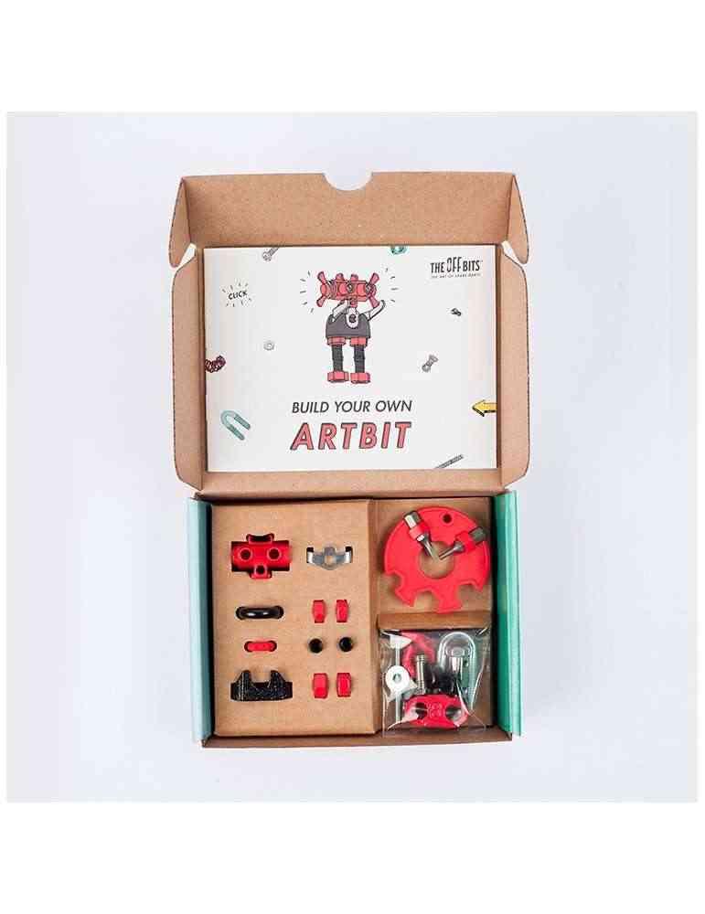 boite ouverte Artbit - Offbits - medium 3 en 1 - Kit de Personnages