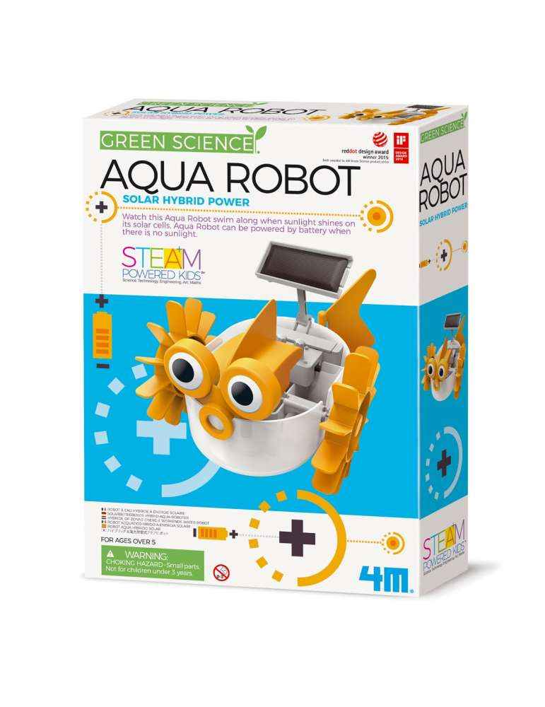 Aqua robot - 4M - Green Science - STEAM Powered Kids