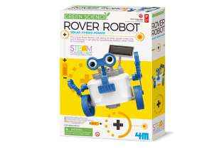 boite Robot Rover Solaire - 4M - Jeu Écologique - STEAM - Jouet Scientifique
