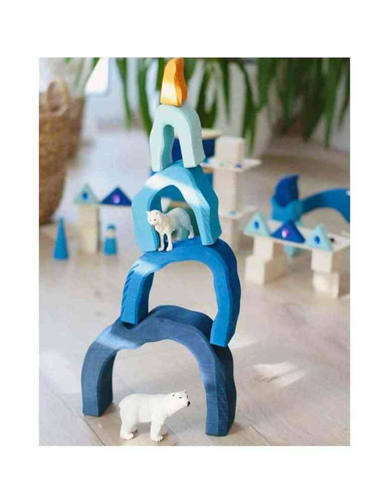 Grotte bleue - jouet en bois - Gluckskafer