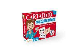 Cartatoto Multiplications - Apprendre les multiplications en s'amusant - France Carte