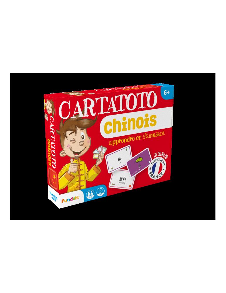 Cartatoto Chinois - Apprendre le Chinois en s'amusant - France Carte