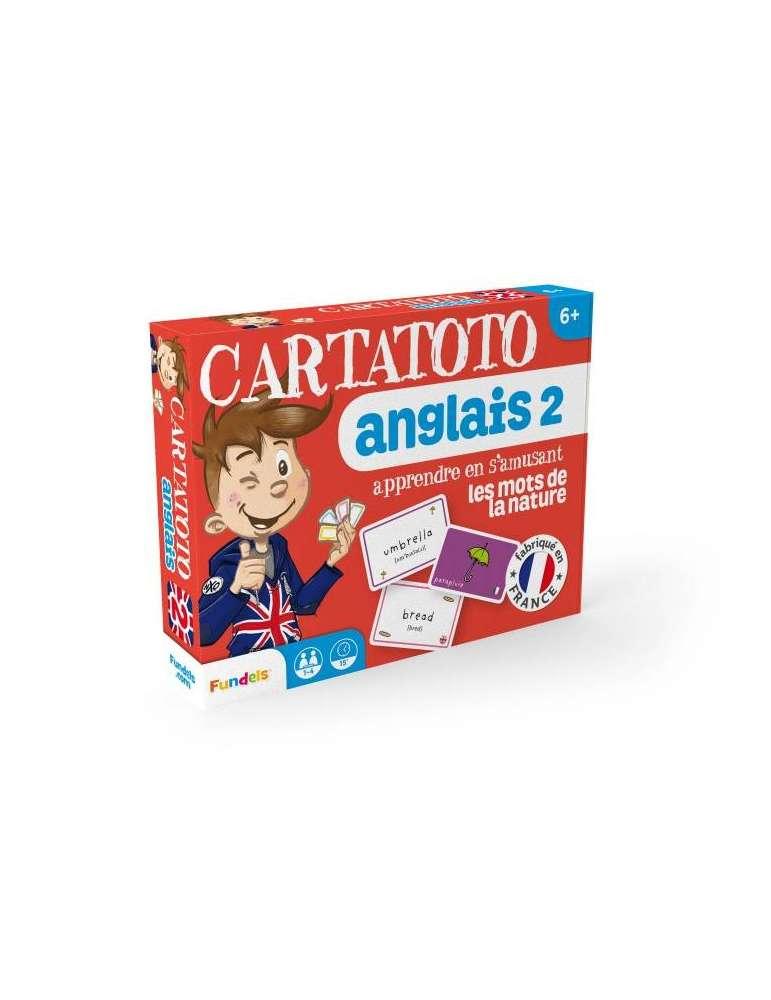 Cartatoto Anglais n°2 les mots du Monde Vivant - Apprendre l'Anglais en s'amusant - France Carte