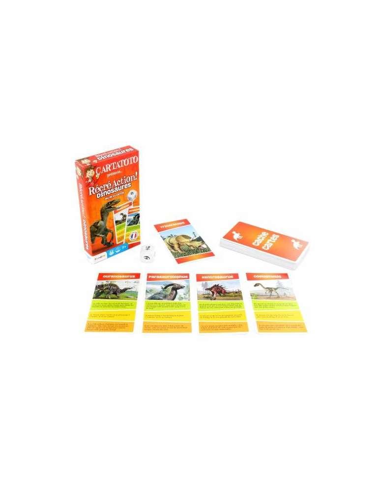 cartes et boite Cartatoto RécréAction Dinosaures