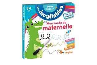 Les Incollables Petite Section - Carnet Effaçable - Mon Année de Maternelle - Playbac