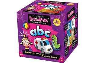 BrainBox ABC - Asmodée - Jeu Éducatif de Mémorisation