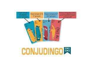 Conjudingo CE2 - Dida Cool - Jeu Éducatif de Français