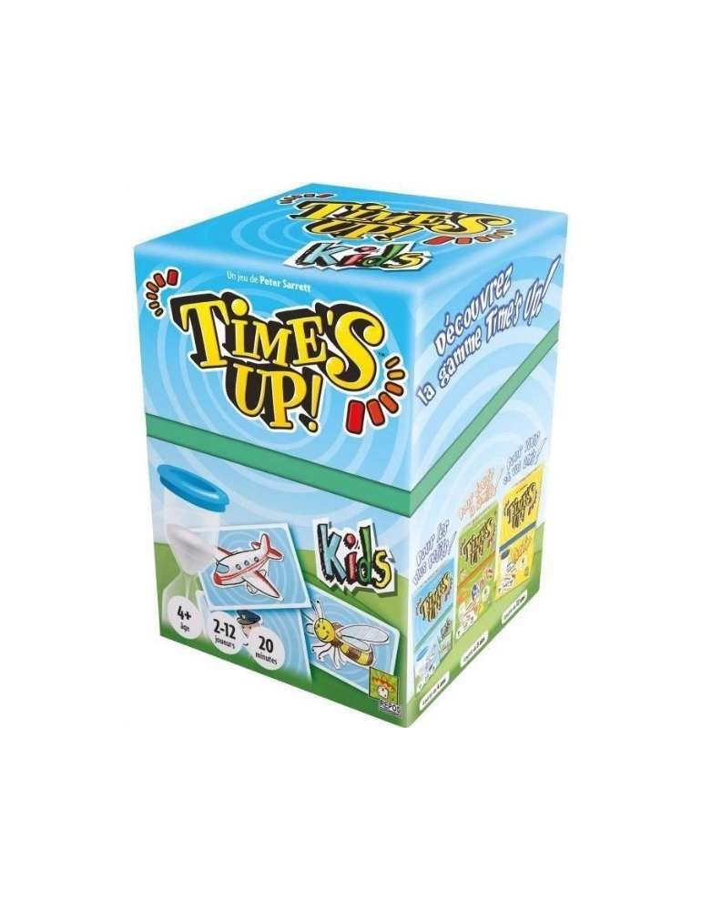 Boite Time's Up Kids Chat - Repos Production - Asmodée