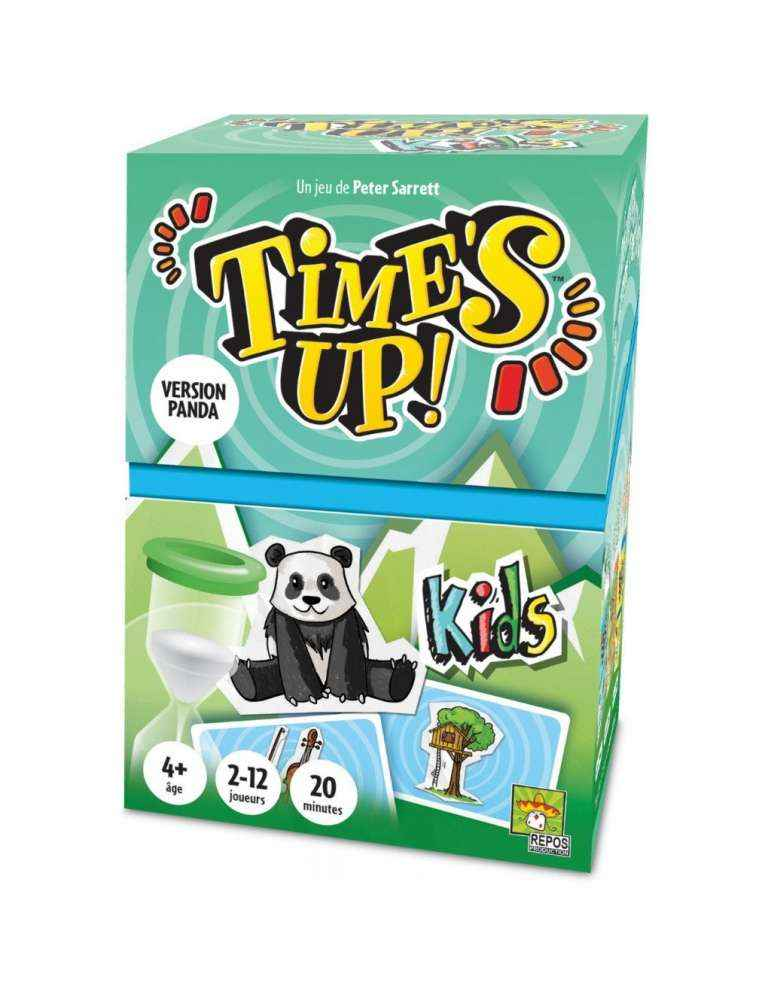 Time's Up Kids 2 Panda - Repos Production - Asmodée
