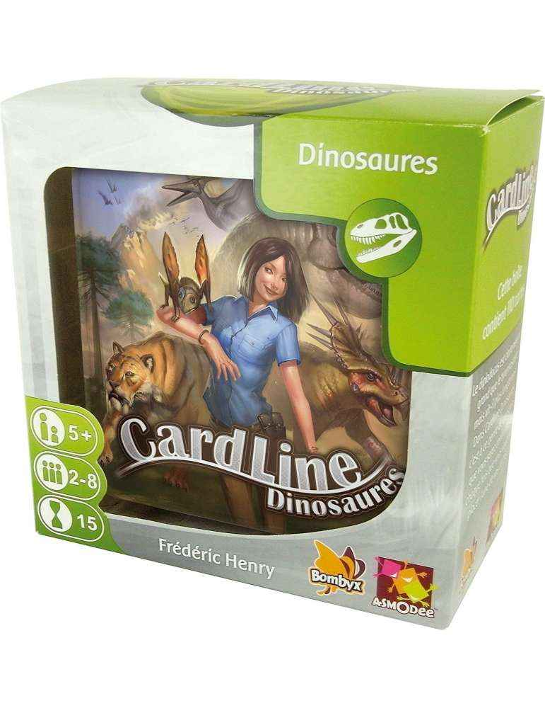 Cardline Dinosaures- Bombyx - Asmodée