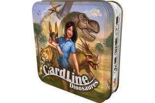 Cardline Dinosaures- Bombyx - Asmodée boite en fer